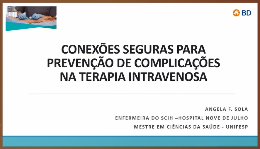 Gratuito: EAD - Conexões seguras para prevenção de complicações na TIV  - Início 10/06