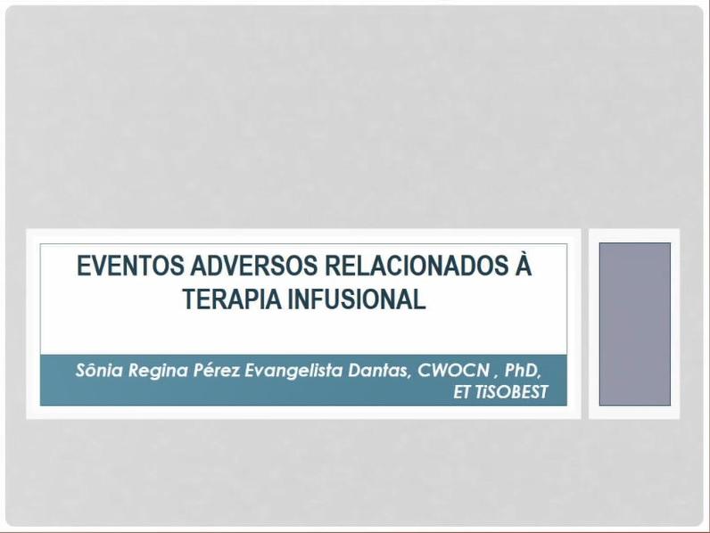Gratuito: EAD - Eventos Adversos relacionados a TIV  - Início 13/05